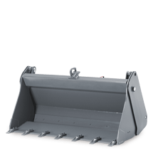 Attachment tools for Wheel Loaders - Multi-purpose bucket with teeth
