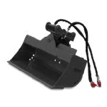 buckets for mini, compact and wheeled excavators - Tilting bucket