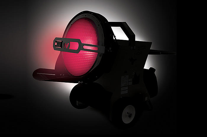 HDR45 Infrared Radiant Heater - heating application