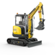 Tracked Zero Tail Excavators - EZ26