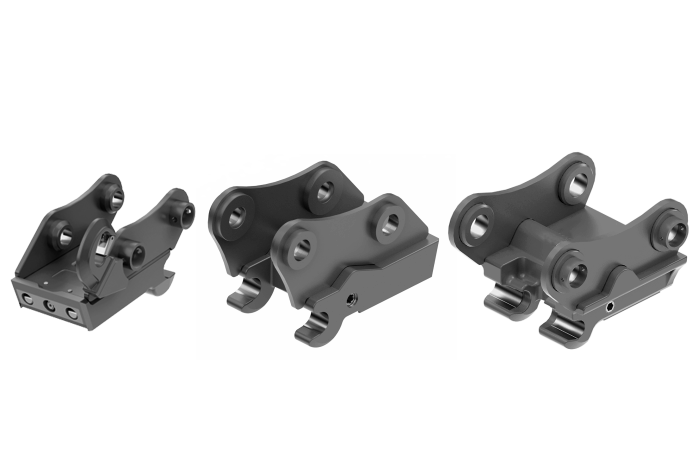 Lehmatic - mechanical quick hitch system