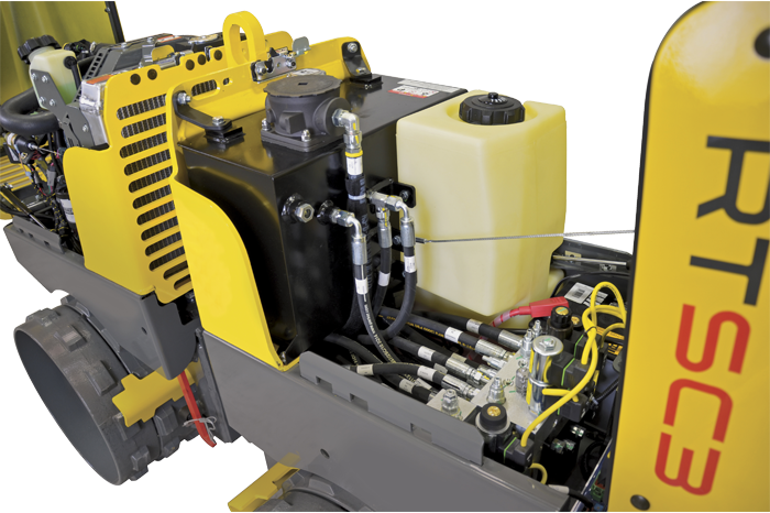 Trench Roller RTX-SC3 - hydraulics