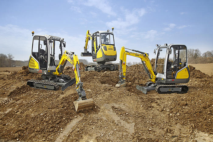 ET18, ET20 and ET24 are the new generation of compact excavators